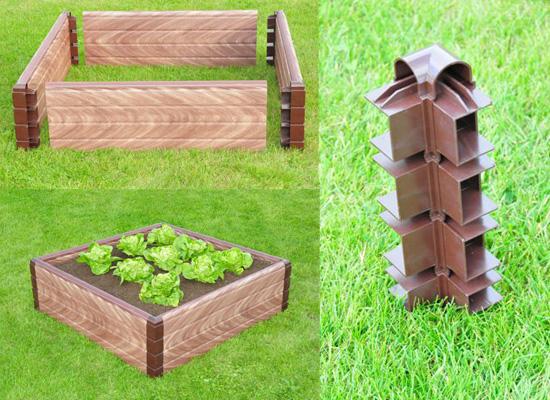 Eco Veg bed-Corners