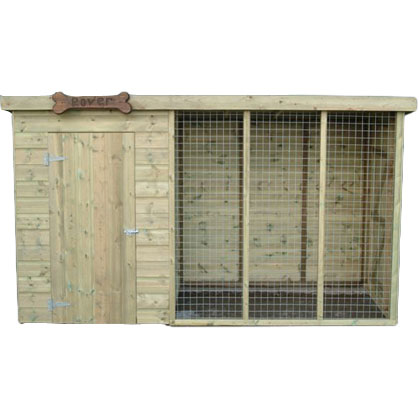 Kennels with run