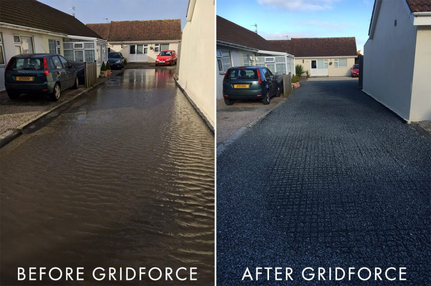 Before and after Gridforce