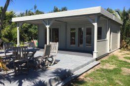 Loglap shed